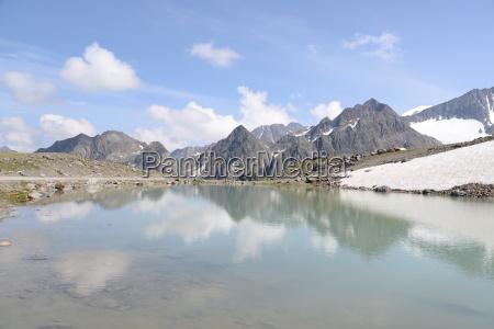jeziora w alpach sztubajskich