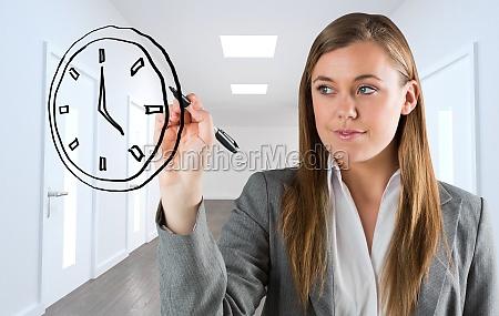 composite obraz biznesu osoba pobierajaca