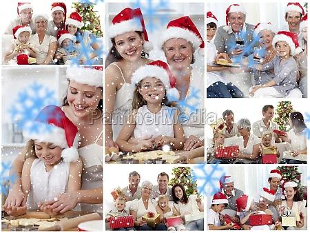 kolaz z rodzin korzystajacych uroczystosci chwile