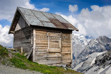 gory alpy szwajcaria voralpen shed firmament
