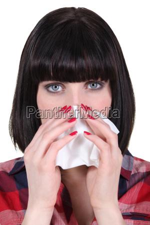bol uczulenie alergiczne udar ranny