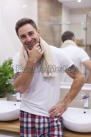 zawdzieczam moj wyglad codziennej higienyr