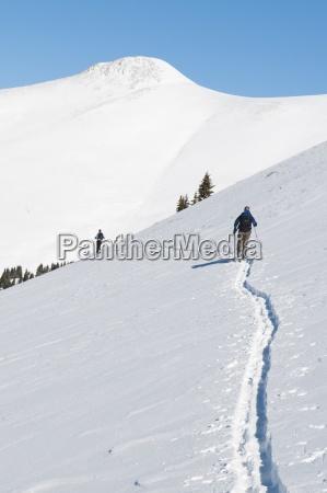 back country ski touring w kolorado