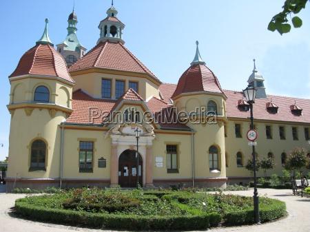 architektura, łazienek, w, sopocie - 13982829