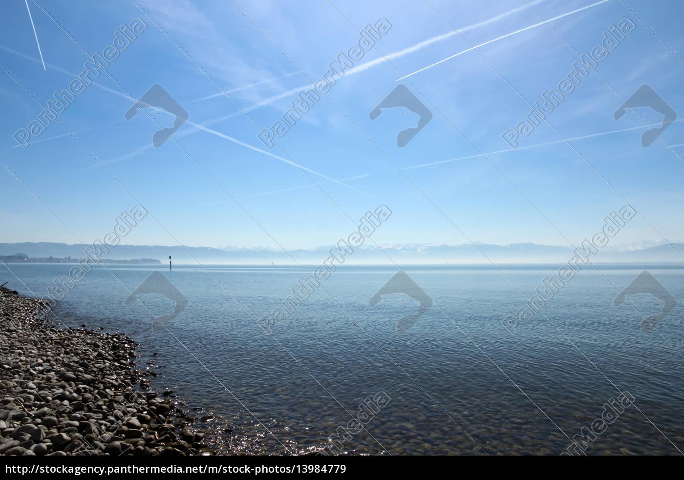 góry, Alpy, plaża, brzegach, brzeg, nadmorski - 13984779