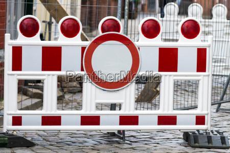 tarcza sygnal znak placard absperrung warning
