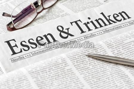 restauracja knajpa gazeta tageblatt info biuro