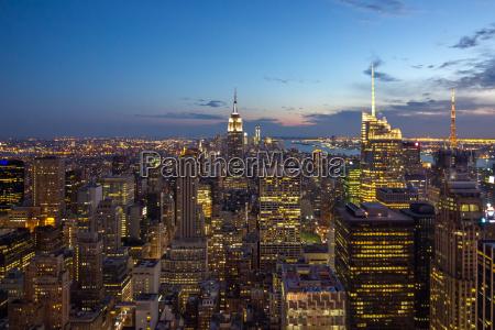 new york skyline usa