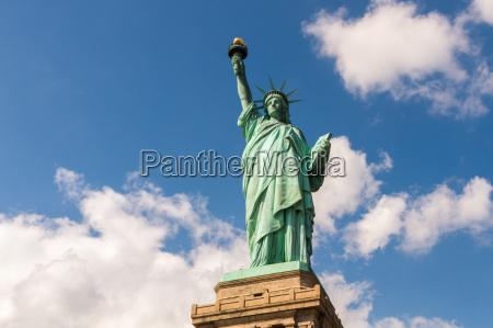 statua, wolności, w, nowym, jorku, usa - 14165921