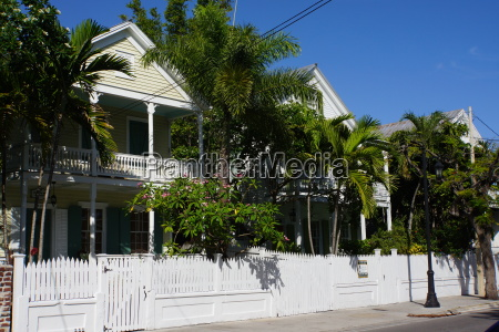 typical architecture in key west