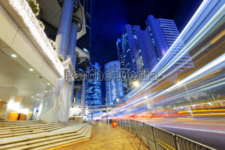 hong kong night ruchu