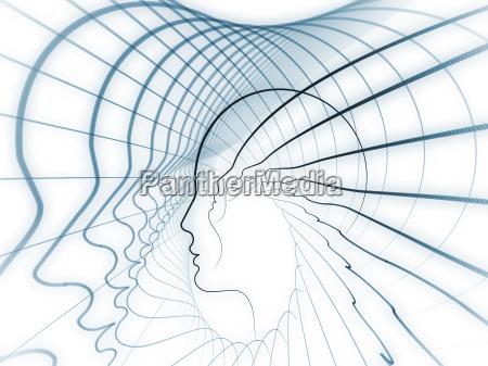 geometria serii soul kompozycja tla linii