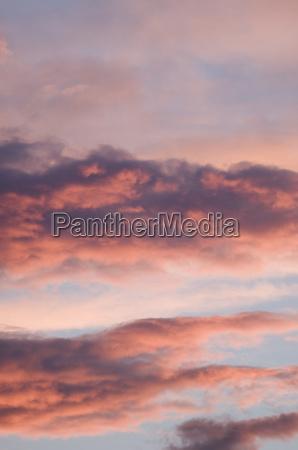 dramatycznie firmament niebo sklepienie czerwone czerwony