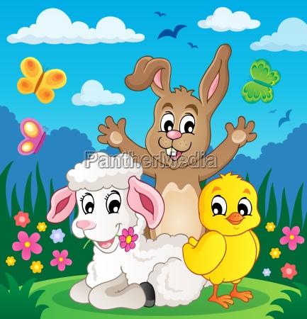 spring animals theme image 4