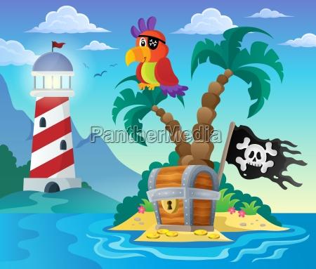 small pirate island theme 3