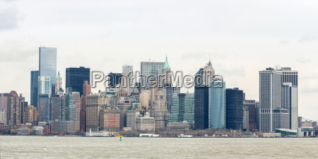 lower manhatta nyc panorama