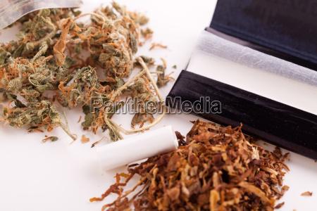 marihuana, z, papieru, i, stawów, do - 14550139