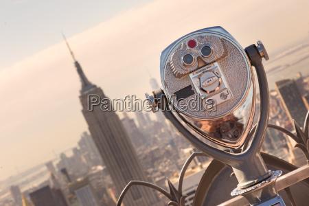 new york city manhattan skyline in