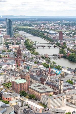 europa niemcy republika federalna skyline niemiecki
