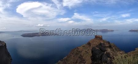 grecja patrzec widok outlook fernsicht panorama