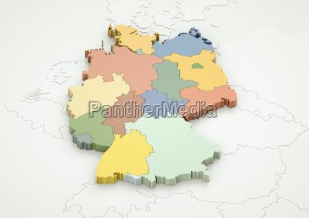 niemcy i kraje sasiednie