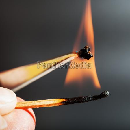 mecz plomien zapali sie probki tkanki