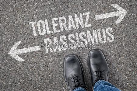 decyzja na skrzyzowaniu tolerancja i