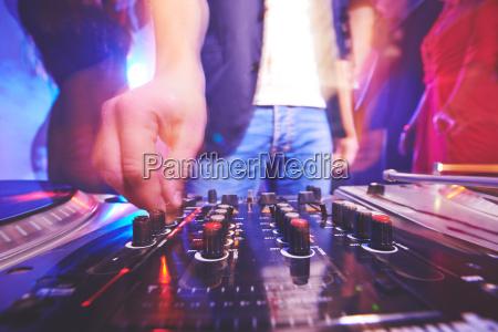 disco reka palec rozrywka muzyka dzwiek