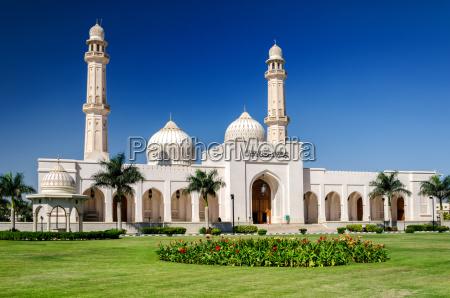 sultan qaboos wielki meczet salalah sultanat