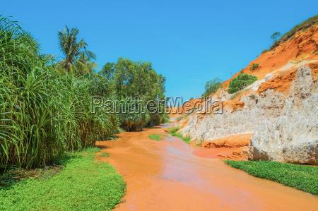 red river i kolorowe piaskowca