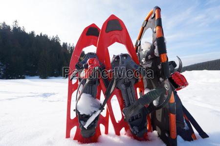 zimowe rakiety sniezne