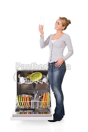 kobieta womane baba gospodarstwo domowe staly