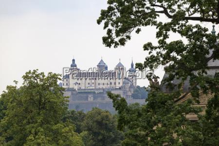 fortress marienberg wurzburg bavaria germany classic