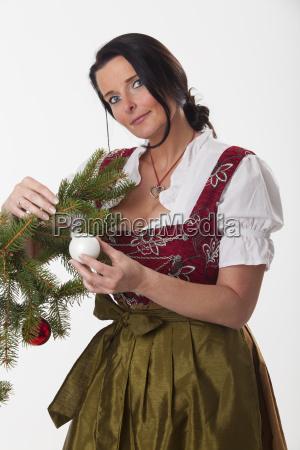 kobieta womane baba cacko kula christbaumkugel