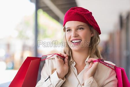 portrait of a happy smiling woman