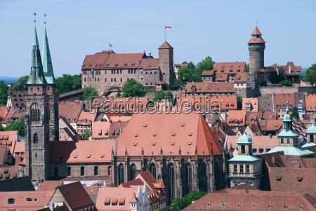 nuremberg nuremberg nuremberg castle sebalduskirche old