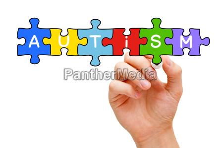 koncepcja puzzle autyzm