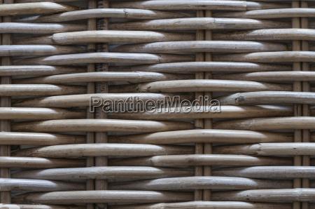 tlo wykonane z plecionych wyrobow koszowych