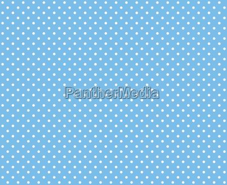 groszki jasnoniebieski bialy