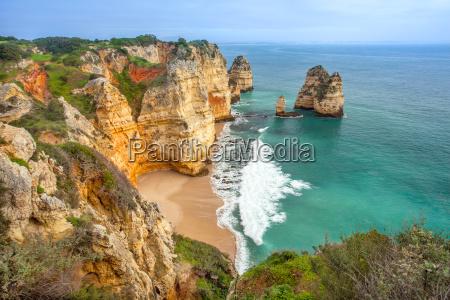jazda podrozowanie europa portugalia wybrzeze zatoka