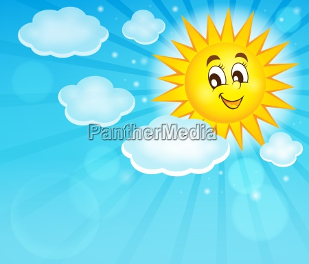 oblok chmura chmurka chmurki ksztalt sunshine