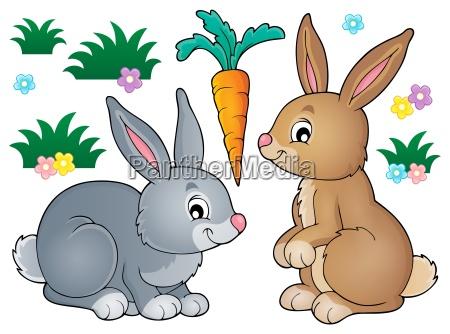 obraz, tematu, królika, 1 - 16072889
