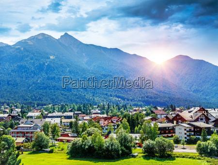 piekna gorska wioska