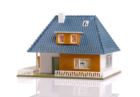 family house plastic scale model
