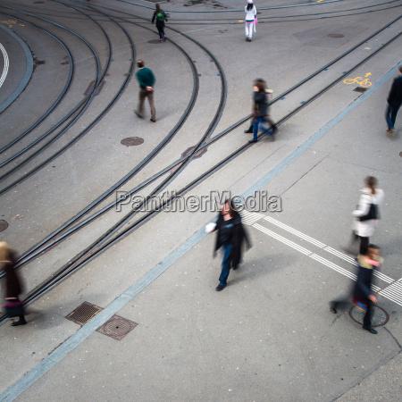 miejska koncepcja ruchu ulica miasta z