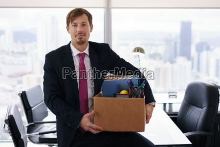 portret tylko wynajety czlowiek biznesu z