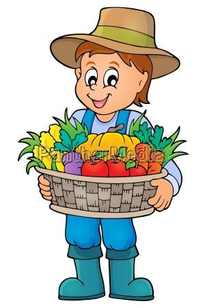 temat rolnik obraz 4