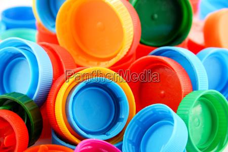 czapka odpad plastik plastyk plastyczny tworzyw