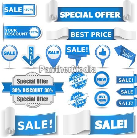 niebieskie sztandary sprzedaz