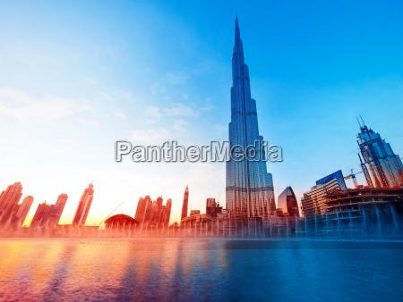 punkt orientacyjny burj khalifa dubai